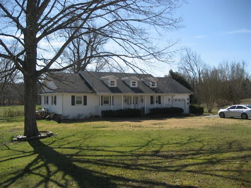 3 Br Country Home Morris Chapel : Morris Chapel : McNairy County : Tennessee