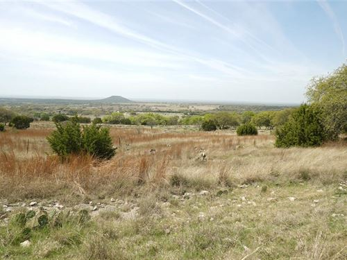 60 Acres In Beautiful Hill Country : Goldthwaite : Mills County : Texas
