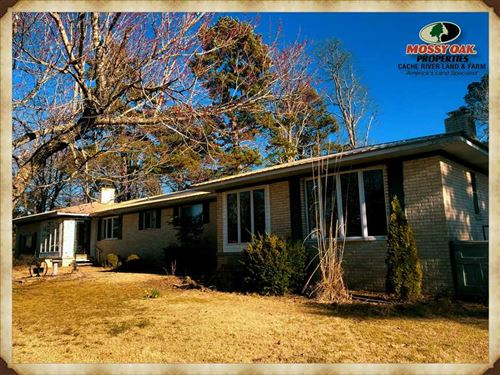 Price Drop, Home With 12.5 Acres : Quitman : Cleburne County : Arkansas