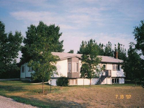 Home Acreage, Horse Property : Conrad : Pondera County : Montana
