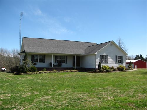 Country Home Acreage Tn, Shops, Row : Sardis : Hardin County : Tennessee