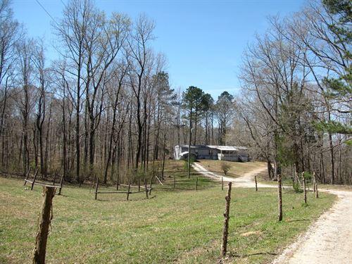 Home Acreage Tn, Barn, Creek, Pond : Reagan : Henderson County : Tennessee