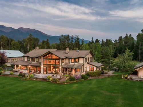 River Bend Ranch : Bigfork : Flathead County : Montana