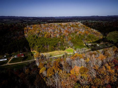 Unrestricted Acreage In Bulls Gap : Bulls Gap : Hawkins County : Tennessee