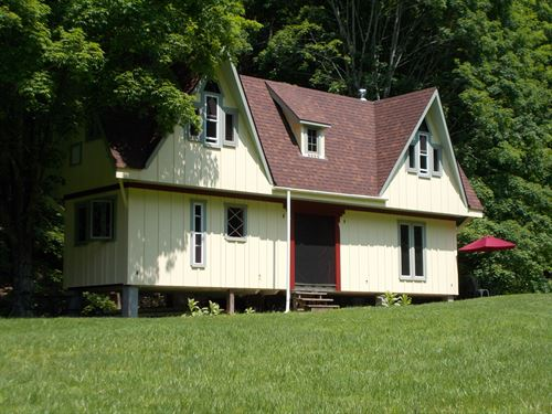 Beautiful 97 Ac, Secluded Wv Farm : Williamsburg : Greenbrier County : West Virginia