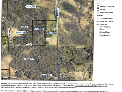 Morrison County Land For Sale : Milaca : Morrison County : Minnesota