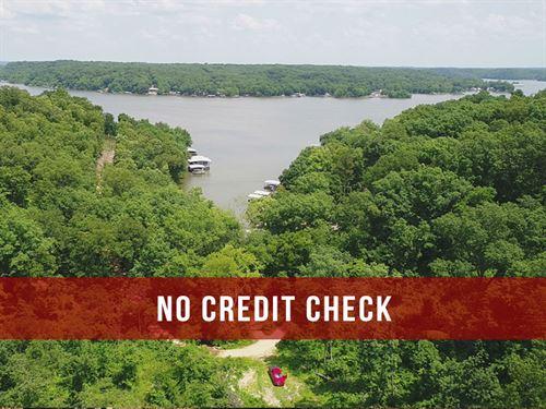 $500 Down On 33 Acres At Lake : Camdenton : Camden County : Missouri