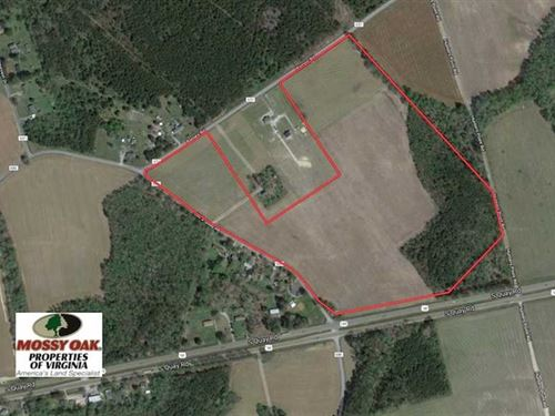 53 Acres of Farm Land For Sale in : Suffolk : Virginia