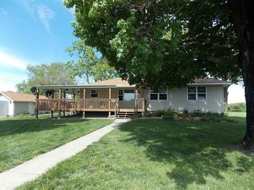 Home For Sale In Southern Ozarks : Mountain Grove : Wright County : Missouri