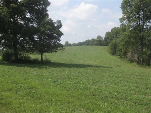 Beautiful Farm Creeks, Pond, Crops : Yosemite : Casey County : Kentucky