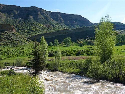 Crystal Creek Ranch : Hayden : Rio Blanco County : Colorado