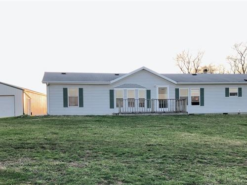 3 Bedroom, 3 Bathroom Home 18 Acres : Barnard : Nodaway County : Missouri