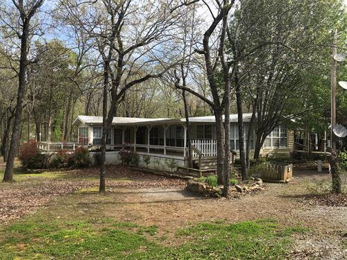 Country Home For Sale SE Oklahoma : Red Oak : Latimer County : Oklahoma
