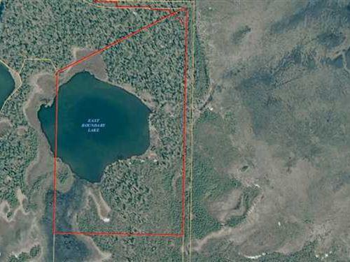 42 Acre Parcel in Nikiski Butts up : Nikiski : Kenai Peninsula Borough : Alaska