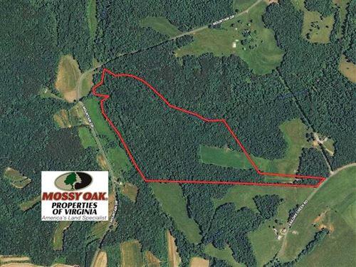 57 Acres of Recreational Land With : Callands : Pittsylvania County : Virginia
