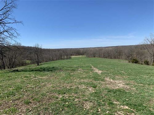 Great 281 Acres In Milan MO Huntin : Milan : Sullivan County : Missouri