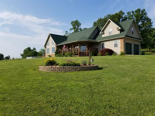 Country Home For Sale In Mo : Mountain Grove : Wright County : Missouri