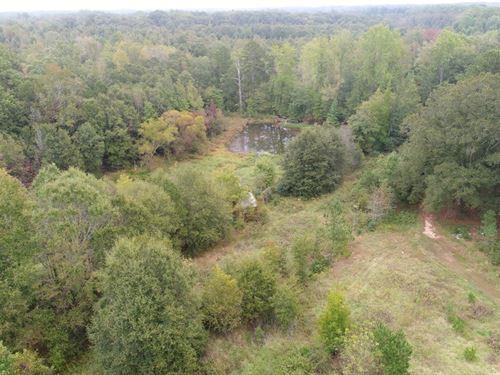Acreage With Pond : Anderson : South Carolina