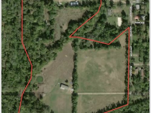 Home Acreage Shop And Pond : Paris : Lamar County : Texas