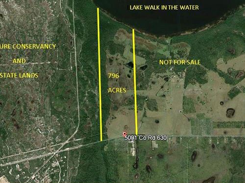 Lakefront Cattle & Hunting Land : Frostproof : Polk County : Florida