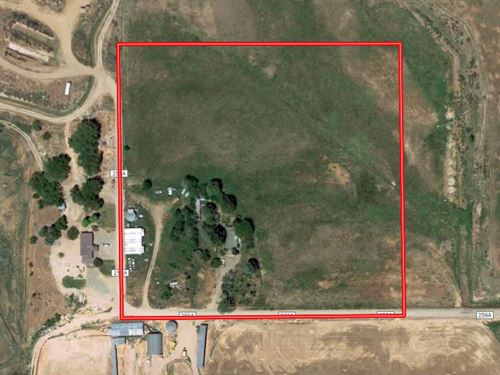 Colorado Hobby Farm Irrigated Land : Rifle : Garfield County : Colorado
