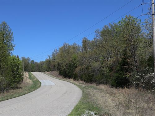 Recreational & Building Property : Elizabeth : Baxter County : Arkansas