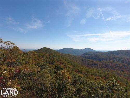 Panoramic Views From Multiple Knoll : Black Mountain : Buncombe County : North Carolina