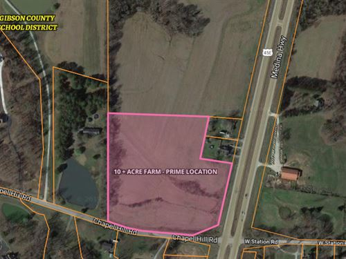 10 Acre Tract Outside City Limits : Milan : Gibson County : Tennessee