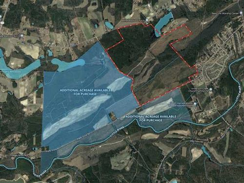 464.63 Acres in Spring Lake, Ha : Spring Lake : Harnett County : North Carolina