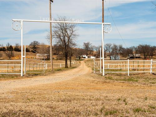 Ranch For Sale In Oklahoma : Henryetta : McIntosh County : Oklahoma