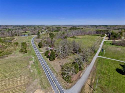 Under Contract, 17.85 Acre Home : Prospect Hill : Caswell County : North Carolina