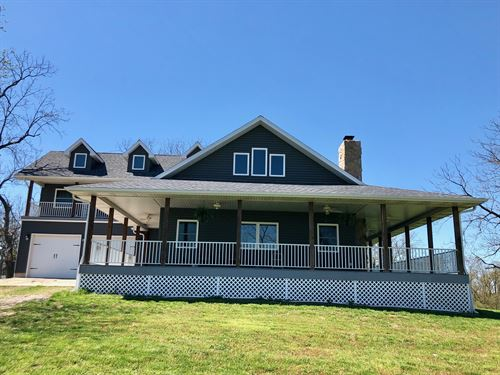 Home With Land For Sale In Southern : Falcon : Laclede County : Missouri