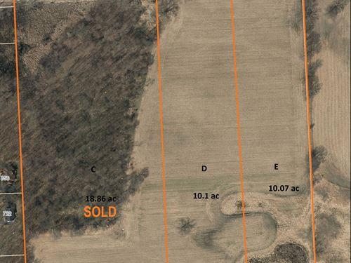 Chelsea Res & Ag Land, Parcel E : Dexter : Washtenaw County : Michigan