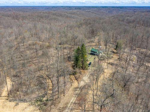 Tick Ridge Rd, 35 Acres : Amesville : Athens County : Ohio