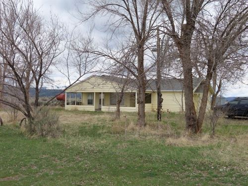 Fixer Upper Country Home 15 Acres : Canby : Modoc County : California