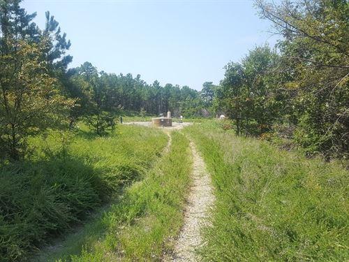 Southern Oklahoma Hunting Property : Fanshawe : Latimer County : Oklahoma