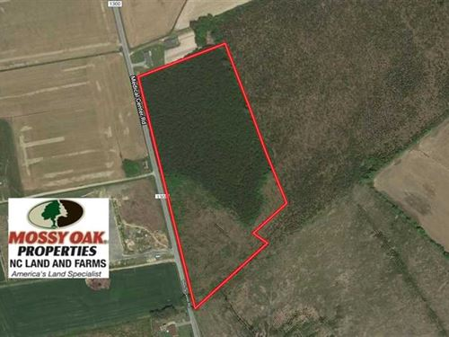 Under Contract, 16.6 Acres of Hun : Gates : North Carolina