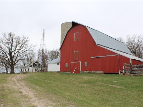 4Br Country Home Acreage in Motley : Motley : Cass County : Minnesota