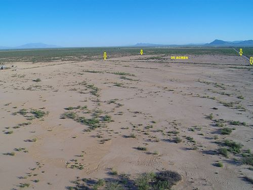 Nice Prime Ag/Res Land-Wells-Power : San Simon : Cochise County : Arizona