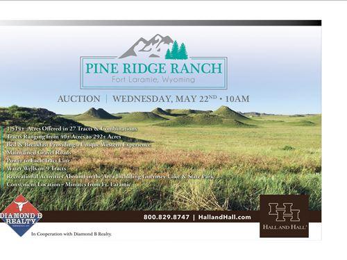 Pine Ridge Ranch Lots : Fort Laramie : Goshen County : Wyoming