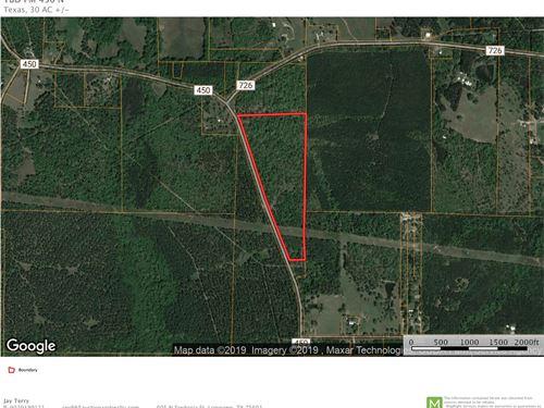 Fenced Timber Hunting Land Harleton : Harleton : Harrison County : Texas