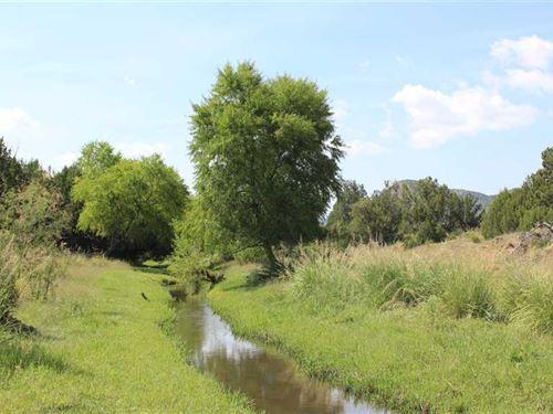 59 Acres on The Rio Bonito Near Li : Lincoln : New Mexico