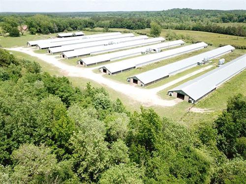 Greenmore Rd Farm, 8 House Broiler : Greenville : Butler County : Alabama