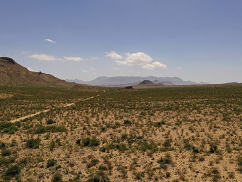 Tract 859 In Terlingua Ranch : Terlingua : Brewster County : Texas