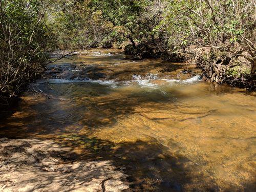 34+/- Acres With Creek : Ashland : Clay County : Alabama