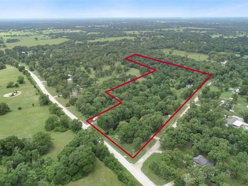 Rare Small Acre Tract : Madisonville : Madison County : Texas