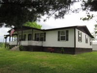 15 Acres, Remodeled Home, Barn : Gainesboro : Jackson County : Tennessee
