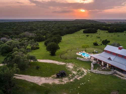 Mountaintop Ranch : Hico : Hamilton County : Texas