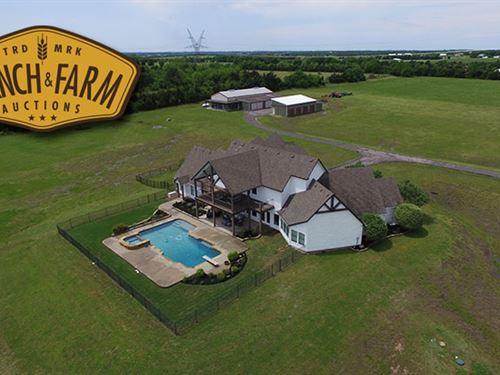 Picturesque Hilltop Views of Cou : Celina : Collin County : Texas