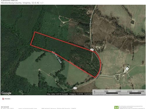 Country Acreage Buggs Island Lake : Boydton : Mecklenburg County : Virginia
